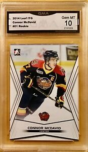 2014-15 ITG In The Game #1 - Connor McDavid - Rookie - GMA 10 Gem Mint