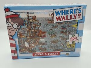 Where's Wally - Being a Pirate - 300 piece Jigsaw Puzzle - BNIB