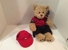 """Babw Golfing Singing Bear With Golfing Outfit.New With Ear Tag.16""""Tall"""
