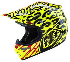 TROY LEE DESIGNS AIR HELMET SKULLY YELLOW MOTOCROSS ENDURO OFFROAD TL1210115