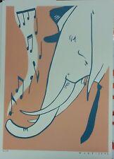 NUKE (Claudia Razzoli)   - stampa  Elefante - numerata e firmata