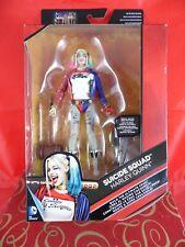 DC Multiverse Mattel 2016 SUICIDE SQUAD Harley Quinn Figure VHTF MIB DELUXE