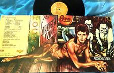 DAVID BOWIE - GATEFOD LP - DIAMOND DOGS  - SPAIN 1974 RCA - 1st SPAIN EDITION