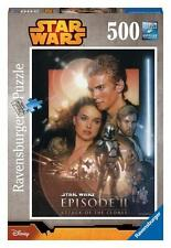 RAVENSBURGER JIGSAW PUZZLE STAR WARS ATTACK OF THE CLONES 500 PCS FANTASY #14666