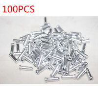 100PCS Bike Bicycle Shifter Brake Gear Inner Cable Tips Ends Caps Crimps Ferrule