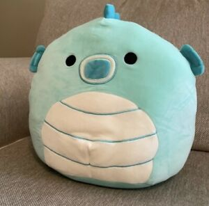 """BNWT Soft Toy Seahorse Squishmallow Seahorse Plush Sheldon 12"""" / 30cm USA Import"""