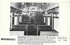 Railway Postcard - Mersey Railway - Interior of 3rd Class Trailer Car   V2242