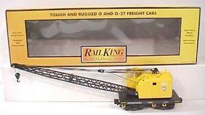 MTH 30-7932 Pennsylvania American Crane Car #85384 EX/Box