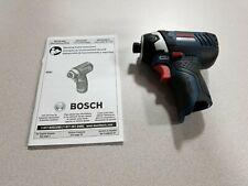 Bosch-PS41BN 12V Max Impact Driver (New- combo kit breakdown)