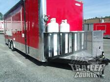 New 85 X 24 Enclosed Mobile Kitchen Tail Gate Food Vending Concession Trailer
