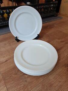 JAJ Pyrex White Dinner Plates 24cm