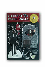 Literary Paper Dolls includes 16 Masters of the literary world anziehpuppen