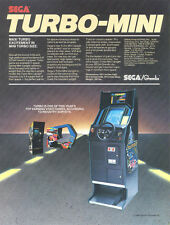 1981 Sega Gremlin Turbo Video Flyer