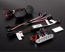 CERCHI in lega/plastica anteriore e posteriore luce Set Per HPI Baja 5B, 2.0,5SC, KM, Rovan, 1/5