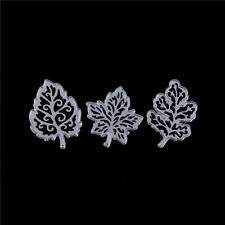 3Pcs Leaves Metal Cutting Dies Stencils for DIY Paper Cards Scrapbooking DecorHI