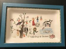 New Juliska Twelve Days of Christmas - Trinket Tray Portugal Ceramic Stoneware