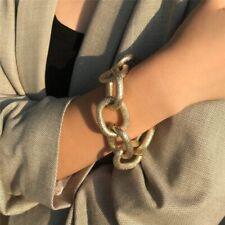 Vintage Punk Heavy Metal Chunky Chain Bracelet Bangle Armband Boho Jewelry