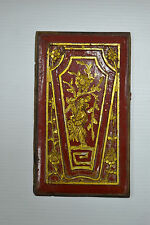 Chinese Antique Wood Carvings Panels Home Decor Wall Art 73-04