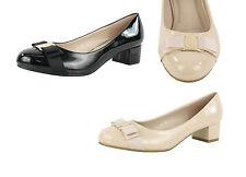 Unbranded Textile Block Low (0.5-1.5 in.) Women's Heels
