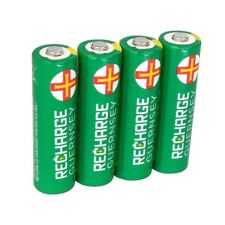 4x AA Rechargeable Batteries 2000mAh HR06 NiMH Pre-Charged Long-Life Performance