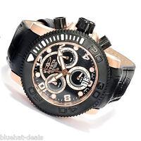 Invicta Watch Men's Pro Diver/Sea Hunter Chronograph Black Dial Black NWT