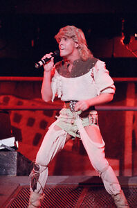 "10""*8"" concert photo of Bucks Fizz, playing at Birmingham in 1984"