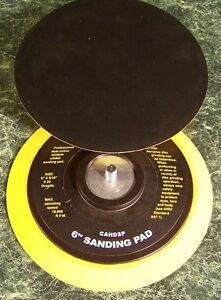 "2 replacement 6 "" DUAL ACTION DA STICK ON SANDING PADS Sand PSA Disc pad foamNEW"