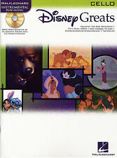 Disney Greats Cello Sheet Music Book CD Playalong NEW