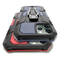 For iPhone 12 Pro Max 12 mini Case Armor Heavy Duty Shockproof Kickstand Cover