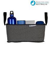 Keep Me Cosy™ Pram Organsier, Stroller Caddy Bag - Classic Ink Spot