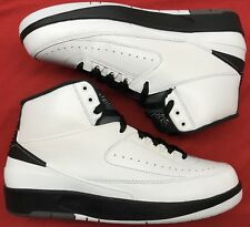 241f9b78e36d9b Jordan Retro II 2 Wing It White Black Grey Chicago 834272-103 Sz 8.5