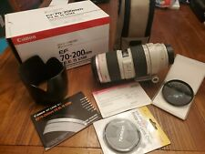 Canon EF 70-200mm f/2.8 L IS USM Lens, excellent condition, w/ B&W circ. pol.