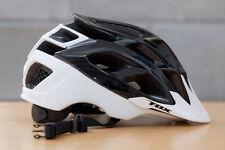 Fox Striker Black/White Helmet Size S/M 54-58cm RRP £90.99