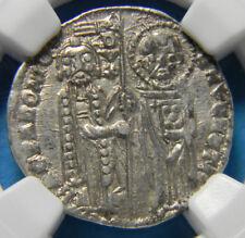 Italy Venice Bartolomeo Gradenigo Grosso (1339-1342) AU55 NGC