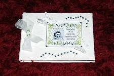 Mum Funeral Condolence Guest Book Bereavement with Photo & Personalised  7