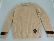 New Authentic Gucci Wool Crew Neck Sweater Top Jumper w/Hysteria Crest 10 293118
