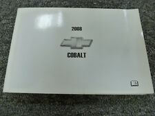 2008 Chevy Cobalt Coupe Sedan Owner Owner's Manual LS LT SS LTZ 2.0L 2.2L 2.4L