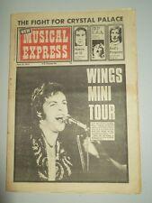 NME JUNE 16 1973 ROD STEWART LED ZEPPELIN PAUL MCCARTNEY BEE GEES SLADE FACES