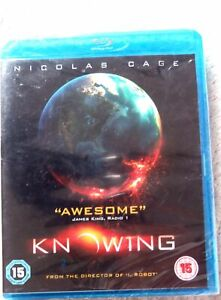 75405 Blu-ray - Knowing [NEW / SEALED]  2009  SUM51235