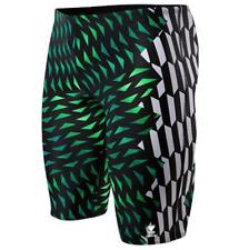 TYR SPORT Men's Cobra Kai All Over Jammer Swimsuit Size M(32) Swimwear