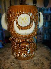 Tiki farm shrunken Fred tiki mug designed by BigToe