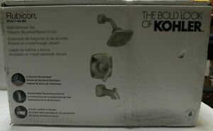 Kohler Rubicon R76217-4G-BN Tub/ Shower Faucet Set- Brushed Nickel Finish NEW