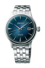 NEW SEIKO PRESAGE COCKTAIL AUTOMATIC BLUE DIAL STAINLESS STEEL BRACELET SRPB41