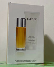 Escape Perfume by Calvin Klein 2 PC Women's Gift Set (3.4oz EDP & 6.7oz Lotion)