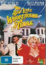 THE BEST LITTLE WHOREHOUSE IN TEXAS - DOLLY PARTON - NEW & SEALED REGION 4 DVD