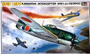 KHS-REVELL & TAKARA-1:32 KAWANISHI INTERCEPTER N1K1-JA (GEORGE) (#813170-3)-3333