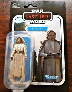 STAR WARS THE VINTAGE COLLECTION  Luke Skywalker LAST JEDI VC131 NEW
