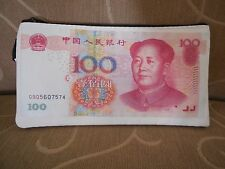 2005 China 100 Yuan Wallet / Coin Purse / Key Chain - NEW