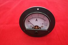 AC 0-10A  ROUND Analog Ammeter Panel AMP Current Meter Dia. 90mm direct Connect