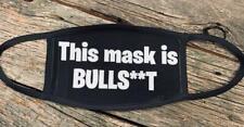 This mask is bullsh**t useless Trump 2020 useless like governor pocket reusable